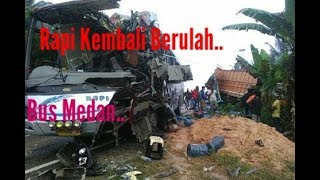 Video Kembali Menelan Korban Jiwa -- Bus Rapi Tabrak Truck Fuso download MP3, 3GP, MP4, WEBM, AVI, FLV Oktober 2018