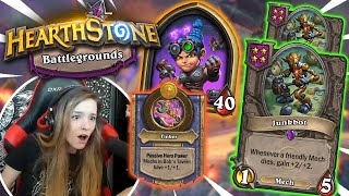 The DOUBLE JUNKBOT Paradox (THIS IS SO ADDICTIVE!!!) [Hearthstone: Battlegrounds]