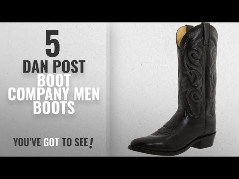 Top 10 Dan Post Boot Company Men Boots [ Winter 2018 ]: Dan Post Men's Milwaukee 13 inch R Toe