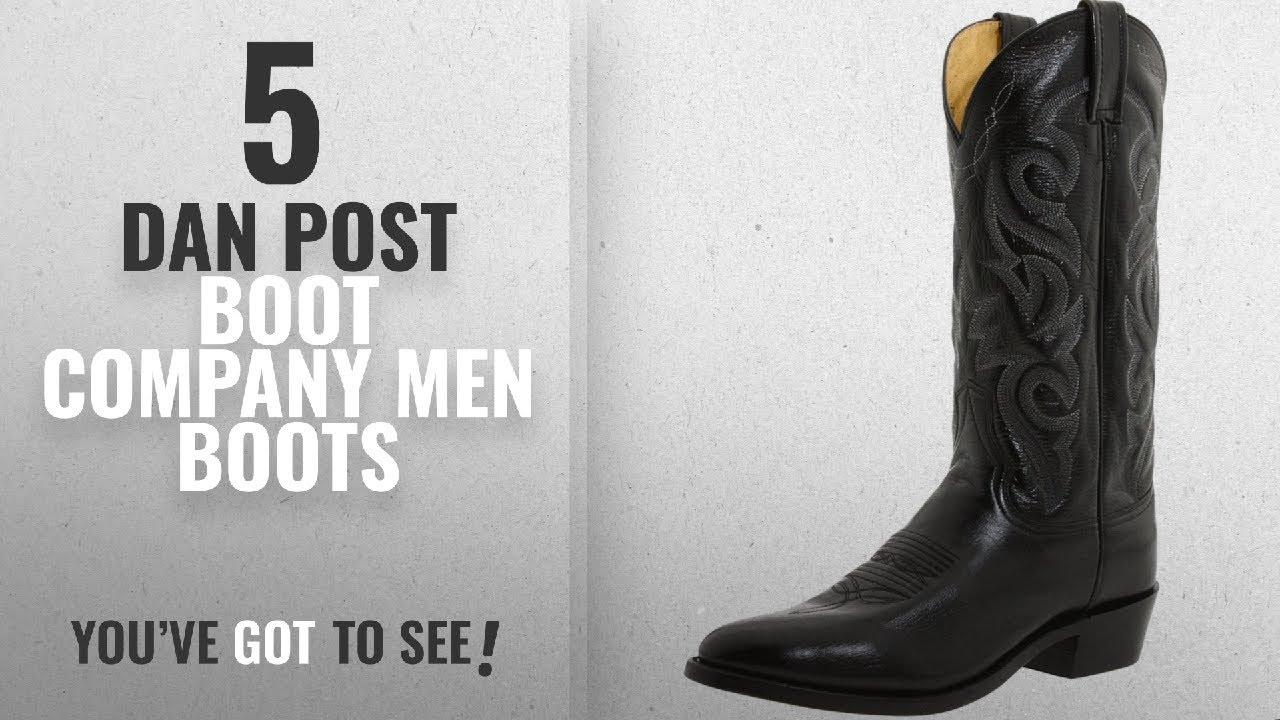 2632a75ae2c Top 10 Dan Post Boot Company Men Boots [ Winter 2018 ]: Dan Post Men's  Milwaukee 13 inch R Toe
