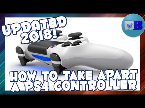 How to take apart a Ps4 Pro Controller