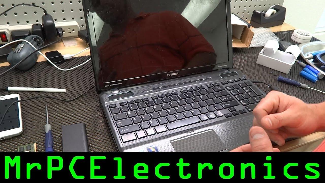 how to fix toshiba webcam