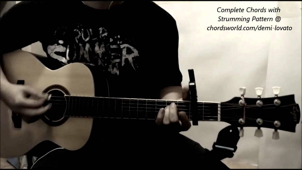 Demi Lovato Up Chords Olly Murs