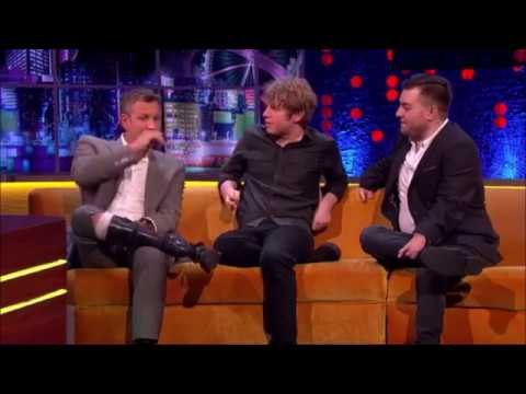 Adam Hills, Josh Widdicombe & Alex Brooker on The Jonathan Ross Show (Feb 2016)
