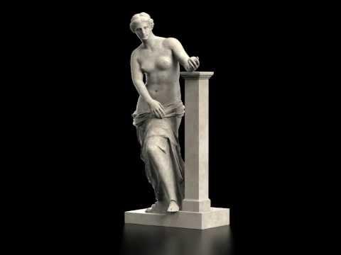 Venus de Milo 3D reconstruction