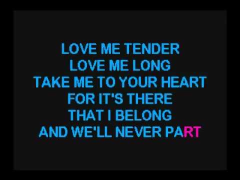 531  Love Me Tender   Karaoke Chez Vous