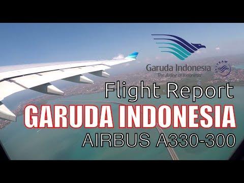 Flight Report Garuda Indonesia Economy Class Airbus A330-300 GA409 BALI JAKARTA