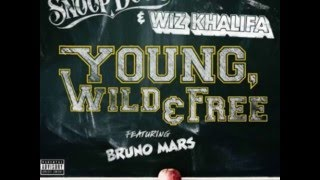 Wiz Khalifa & Snoop Dogg ft. Bruno Mars - Young, Wild, and Free w/ Lyrics in Description