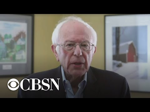 "Bernie Sanders On The ""difficult And Painful"" Decision To Drop Out"