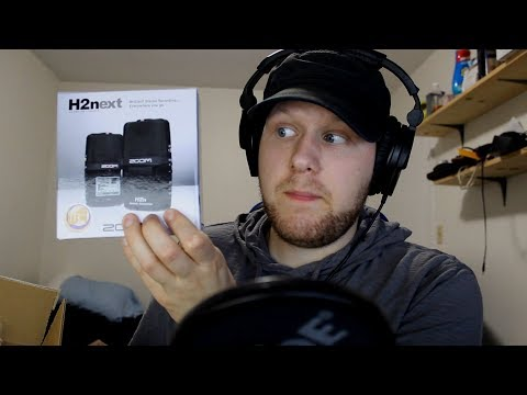 [ASMR] Unboxing And Testing A Zoom H2N Microphone For ASMR