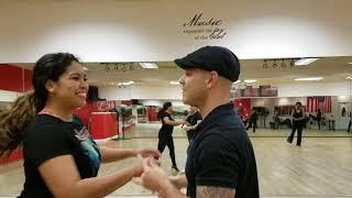 Jose & Melissa Salsa Dancing