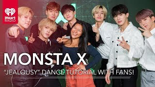 "Monsta X Gives A ""Jealousy"" Dance Tutorial + Dances With Fans!"