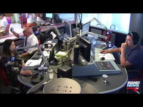 Ricardo Boechat tem ataque de fúria ao vivo na Bandnews FM