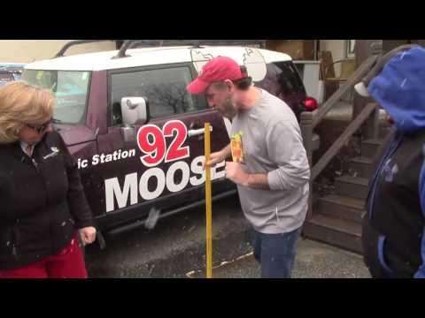 Moose Morning Show Spring Snowmageddon