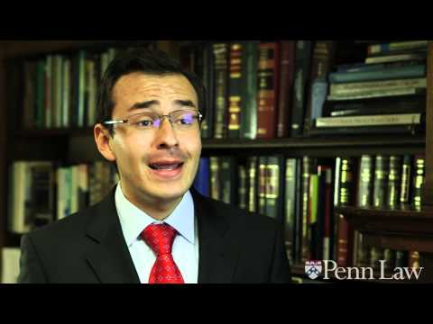 Gustavo Silva Cano L'13 on Penn Law's collaborative and supportive community