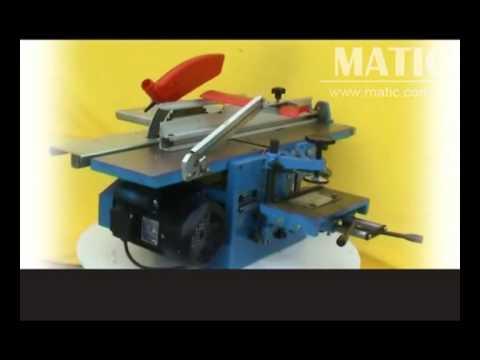 Multi Use Woodworking Machinery Mq292a Jaya Youtube