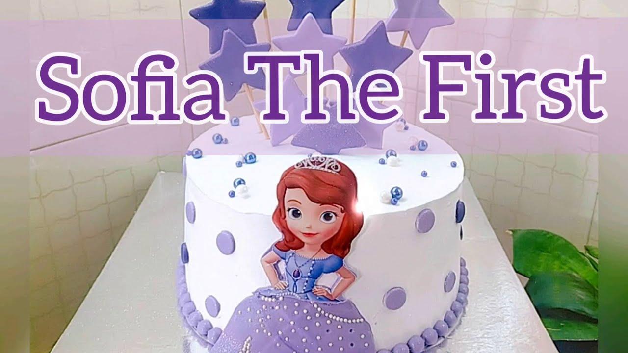 Download SOFIA THE FIRST Cake | Cake Tutorial | Amazing Cake Decoration Idea| Girl Birthday Cake