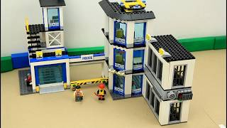 Build Police Station Kids Toy Video