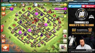 WHEN TO GO TH9.5/8.5 & WHEN TO LEAVE...