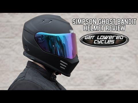 Simpson Ghost Bandit Helmet Review - GetLowered.com