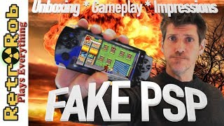 Fake PSP Unboxing, Gameplay, and Impressions