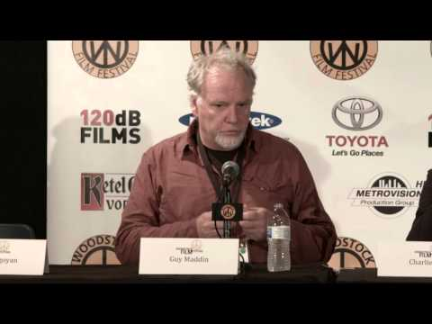 "2015 Woodstock Film Festival: ""A Conversation with Atom Egoyan and Guy Maddin"" FULL PANEL"