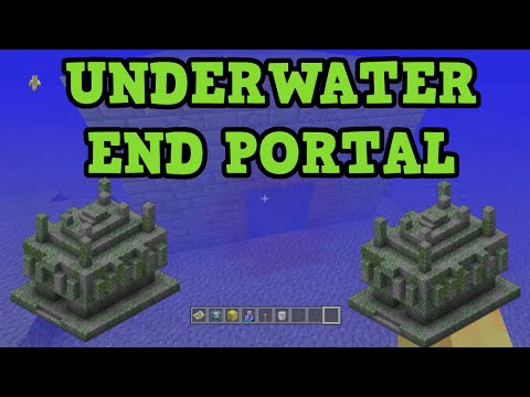 Minecraft Xbox 360 / PS3 Seed - Underwater End Portal & 3 TEMPLES