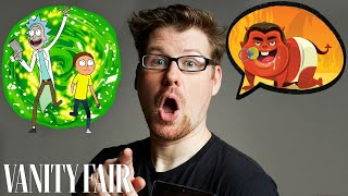 Justin Roiland (Rick and Morty) Improvises 10 New Cartoon Voices | Vanity Fair