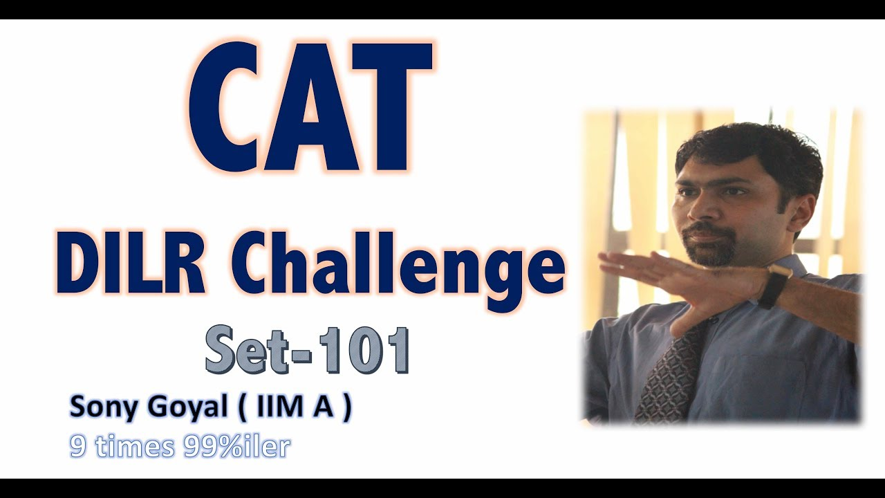 Download CAT DILR Advance Practice Set- 01A by Sony Sir, IIMA