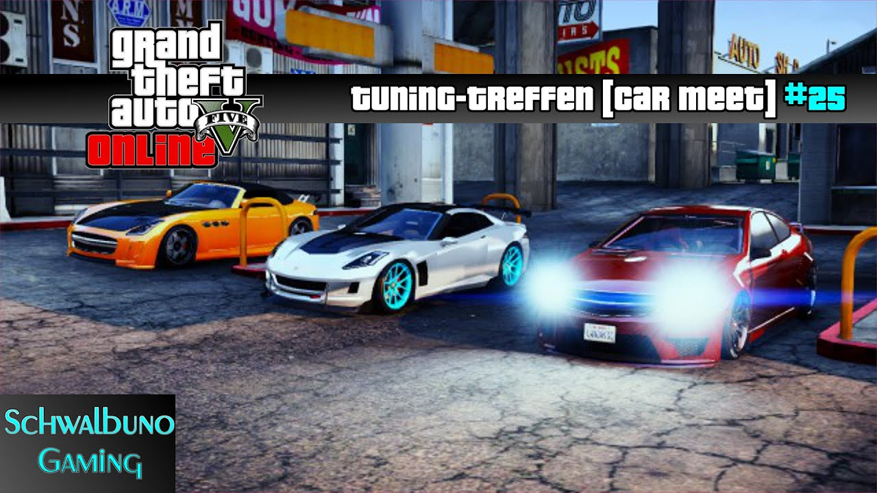 GTA 5 Online car meet / Tuning-Treffen #25 (PS3) | Drift ...