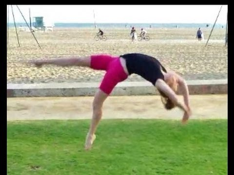 how to learn a back handspring