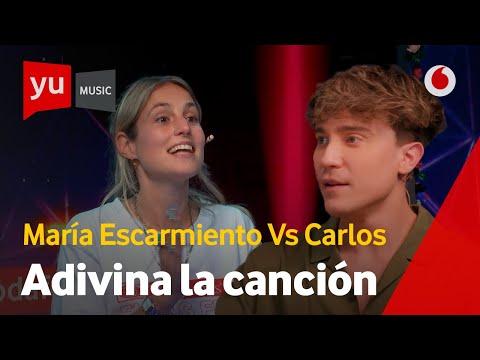 ⚔️ María Escarmiento vs. Carlos Marco   Adivina la canción #yuMusic