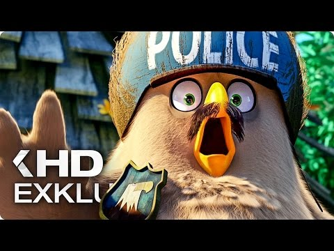 ANGRY BIRDS Exklusiv Clip & Trailer German Deutsch (2016)