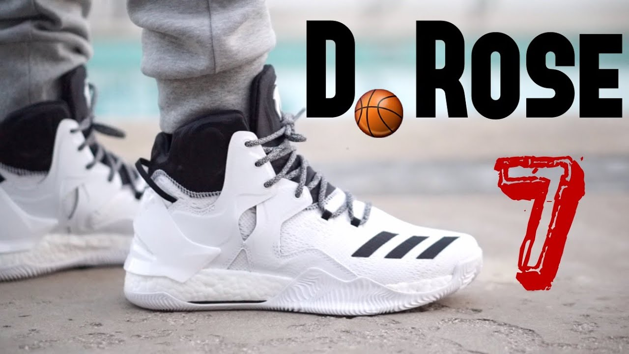 Adidas D Rose 7 On Feet