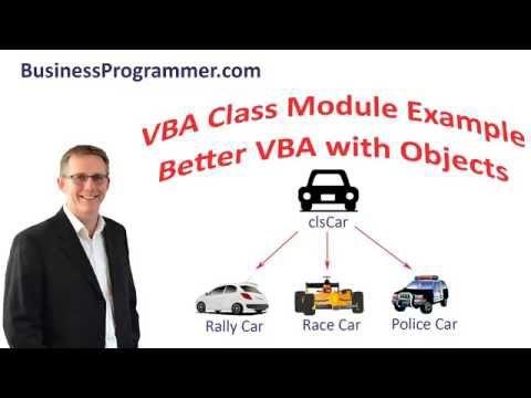 vba class module example
