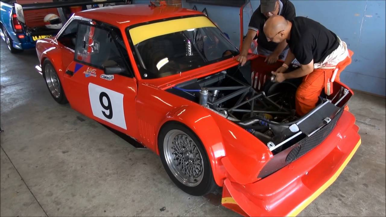 Fiat 124 Coupe Race Car With Rotary 20b Engine Youtube