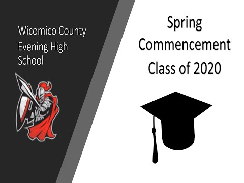 Evening High School Spring Virtual Graduation 2020