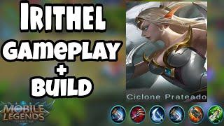 IRITHEL (GAMEPLAY+BUILD) MOBILE LEGENDS