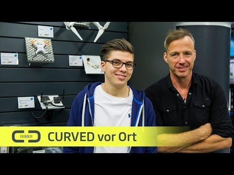 Zu Besuch in der Drohnenwerkstatt / Curved
