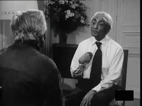 Jiddu Krishnamurti - Entretien en français 1972