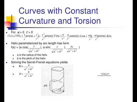 serret frenet equations