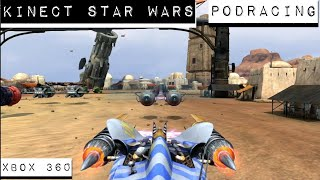 kinect Star Wars - Podracing - All Races Gameplay - Xbox 360