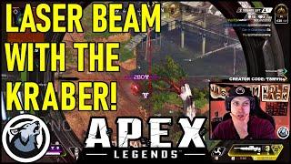 VISS LASER BEAM WITH THE KRABER! APEX LEGENDS SEASON 4