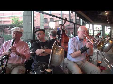 """Clint Baker's Cafe Borrone All Stars  """"We Shall Walk Through the Streets of the City"""""""