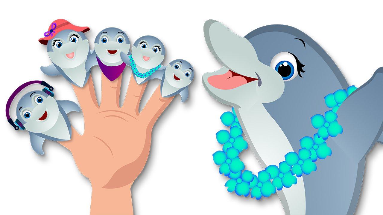 Canci n de dibujos animados de delfines las canciones - Para ninos infantiles ...