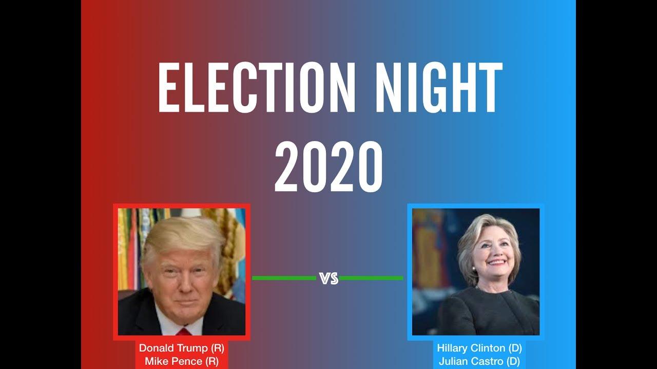 election night donald trump  hillary clinton youtube