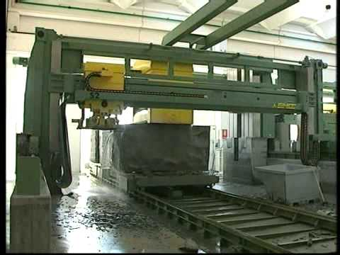 NT100 cutting centre with 100 disks for granite
