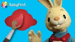 Red | Learning Colors | Harry the Bunny | BabyFirstTV