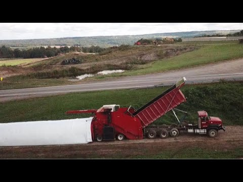 Ag-Bagging Corn Silage With A Versa Bagger Start To Finish
