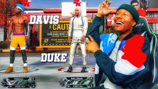The Undefeated Duo Duke Dennis and Imdavisss RETURNS to NBA 2K20 with their DEMIGOD guard builds...